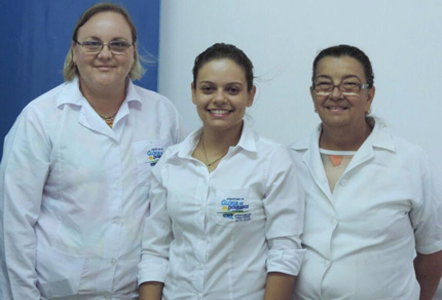 Equipe da SMS de Glória de Dourados - Foto: Demerval Nogueira