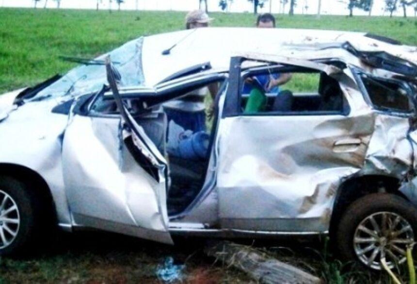 Foto: Divulgação/Polícia Militar Circunstâncias do acidente deverão ser apuradas pelas autoridades competentes