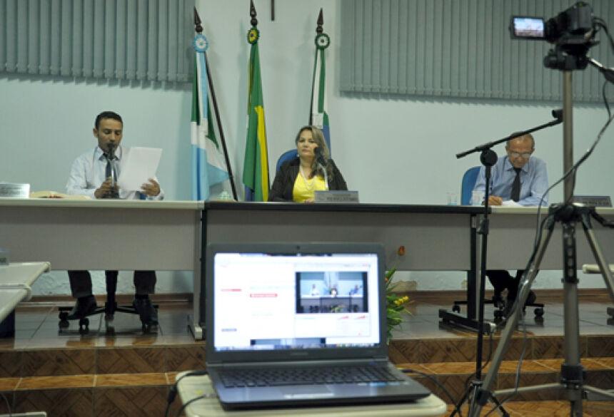 Sessões já estão sendo transmitidas ao vivo em som e imagem - FOTO: ROGÉRIO SANCHES / FÁTIMA NEWS