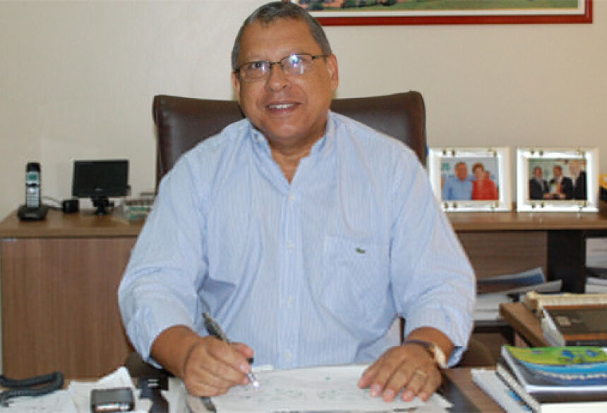 Foto: José Carlos.  Prefeito de Jateí Arilson Nascimento Targino
