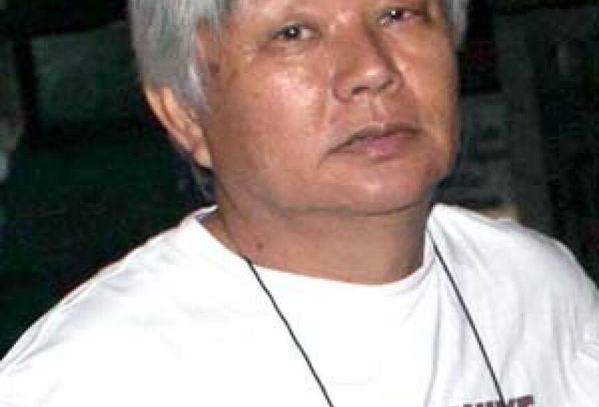 Empresário e agricultor,Choiti Takahashi. <br>Foto: Antonio 'Ibra'