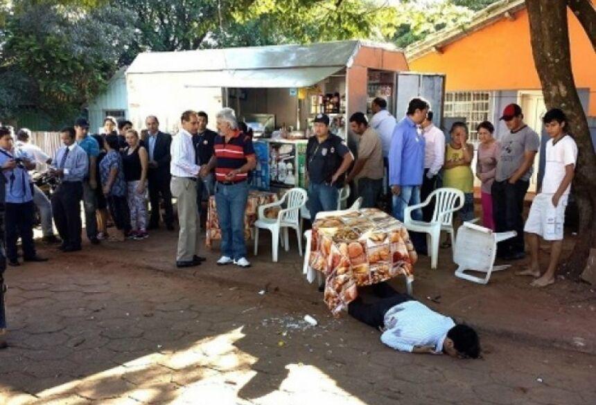 Advogado foi assassinado na manhã desta quarta-feira - Foto: Lucho Rocha/Repórter MS