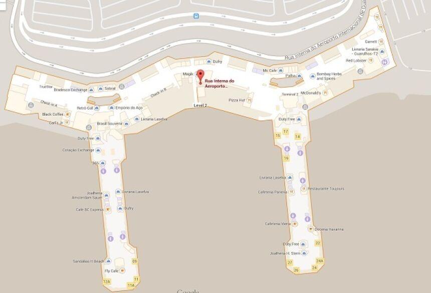 Para compartilhar esse conteúdo, por favor utilize o link http://www1.folha.uol.com.br/tec/2014/05/1450111-google-brasil-lanca-mapas-do-interior-de-aeroportos-estadios-e-shoppings.shtml ou as ferramentas oferecidas na página. Textos, fotos, artes e vídeos