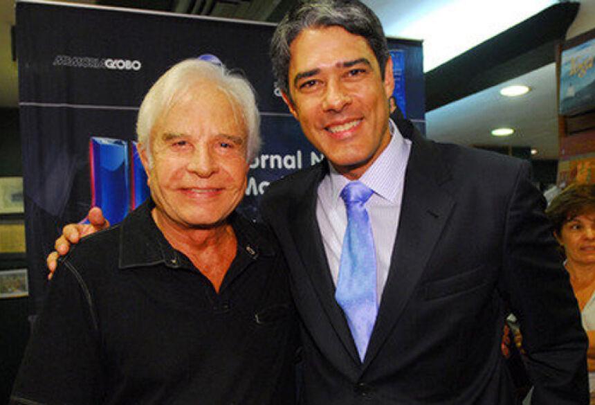 Cid Moreira apresentou o 'Jornal Nacional' por 27 anos (Divulgação/ Globo)