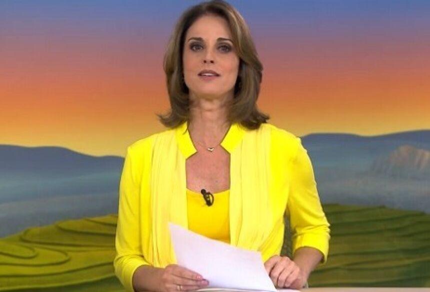 Helen Martins, apresentadora do Globo Rural; programa demorou dois anos para responder telespectador. Reprodução/TV Globo