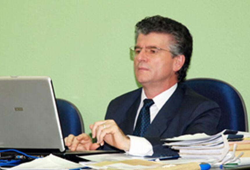 Dr. Bonifácio Hugo Rausch, Juiz de Direito e Presidente do Tribunal do Júri da Comarca de Fátima do Sul. Foto: Rogério Sanches / Fátima News