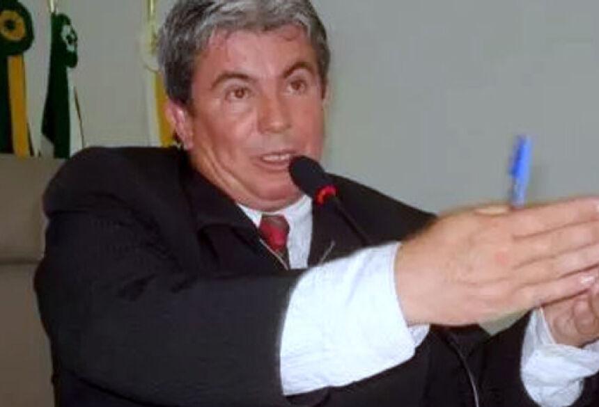 Ex-vereador e ex-presidente da Câmara de Naviraí, Laurentino Pavão de Arruda. (Foto: Orisvaldo Sales)