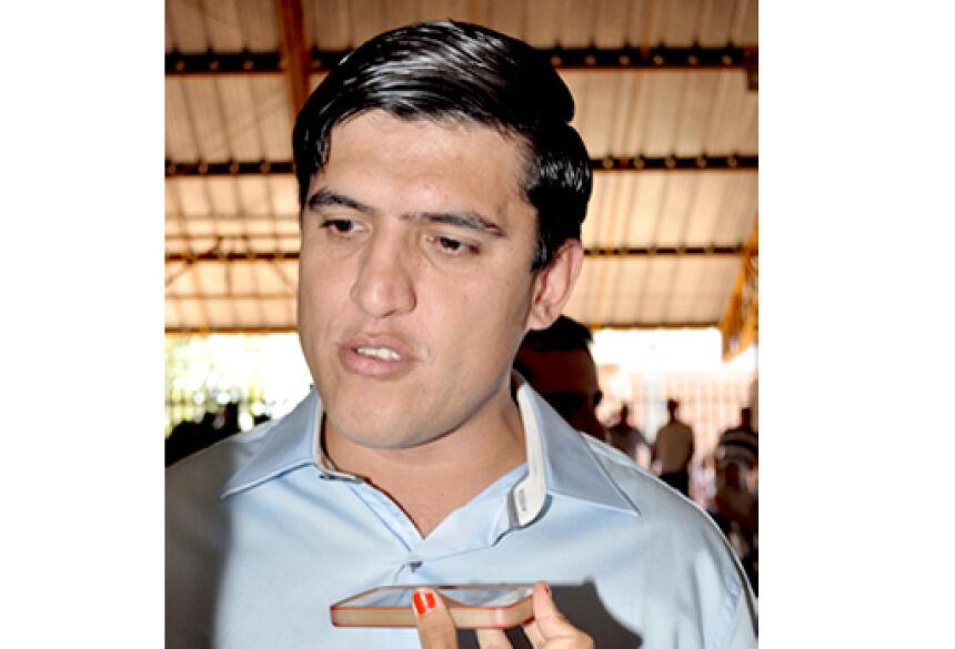 Prefeito Municipal de Fátima do Sul Júnior Vasconcelos (PSDB) - Foto: Ribero Júnior