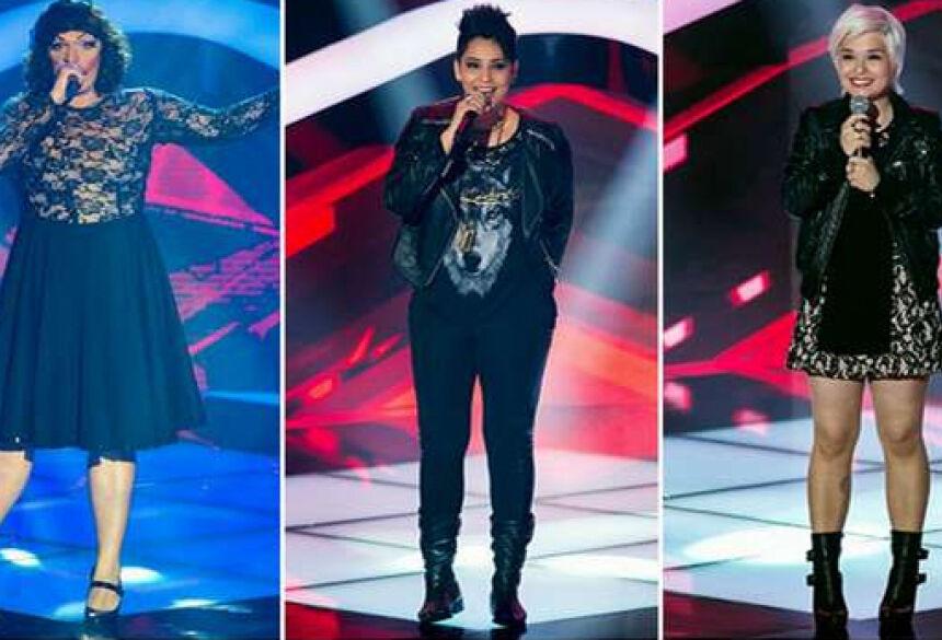 Deena Love, Nise Palhares e Hellen Lyu: destaques da estreia (Fotos: Divulgação/TV Globo)