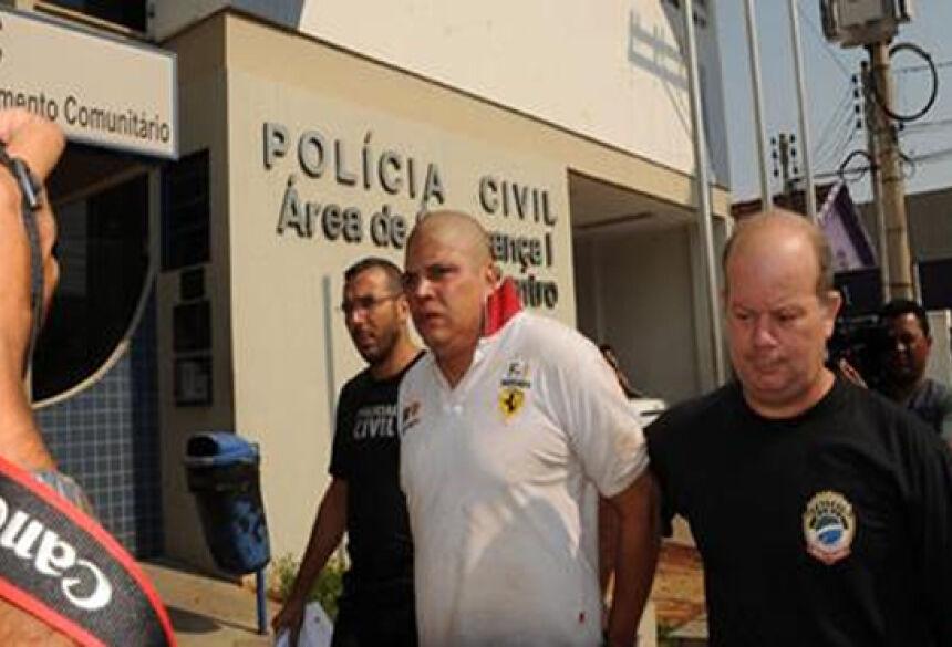 Fernando responderá por homicídio doloso (Foto: Paulo Ribas / Correio do Estado)