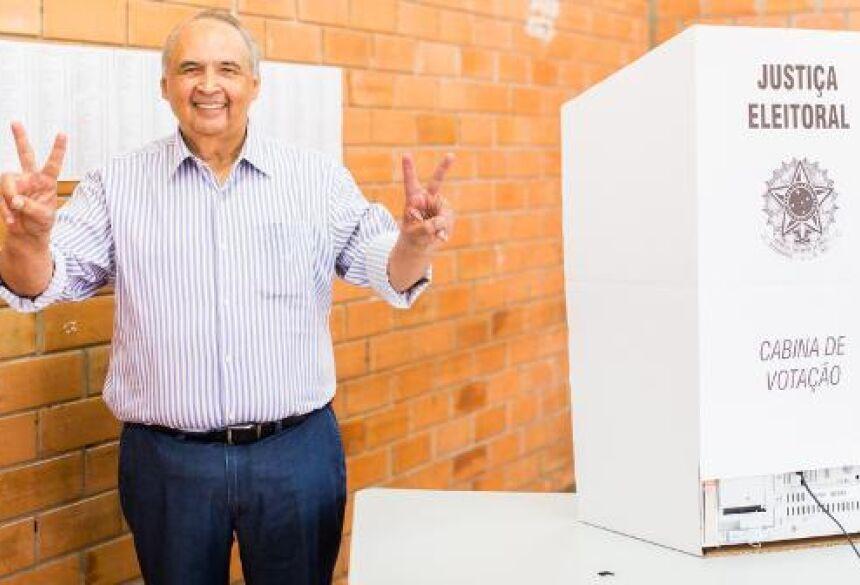 Deputado Londres Machado, candidato a vice-governador  - (Foto: Gerson Fior / fatimaemdia.com.br)