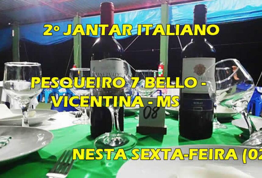 FOTO: ROGÉRIO SANCHES / FÁTIMA NEWS - 2º Jantar Italiano acontece nesta sexta-feira no Pesqueiro 7 Bello