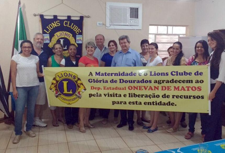 Deputado Onevan de Matos entrega 4 emendas parlamentares em GLÓRIA DE DOURADOS