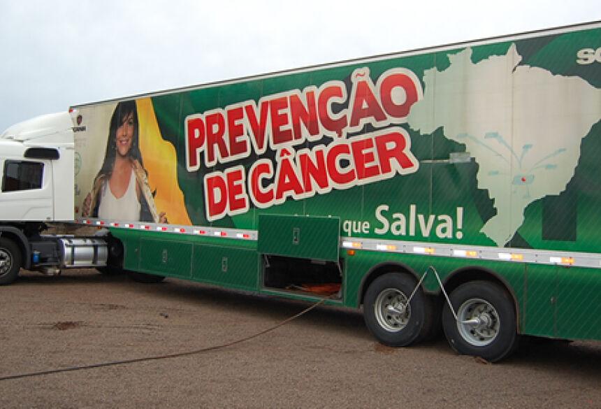 Carreta de Barretos ficará 5 dias para atenderá as mulheres neste mês de janeiro em JATEÍ