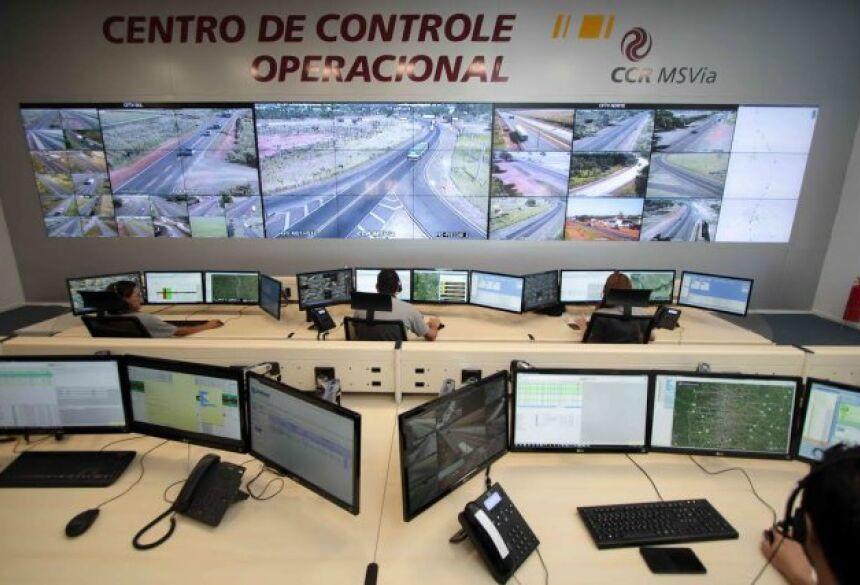 Centro de Operação da CCR fica em Campo Grande