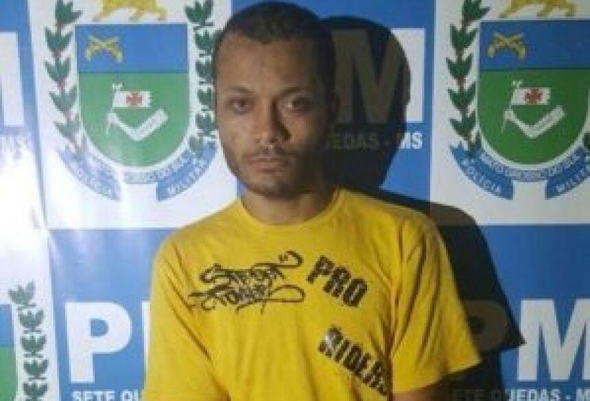 Acusado estava no Paraguai e fugiu da polícia (Foto: Notícias da Hora MS)