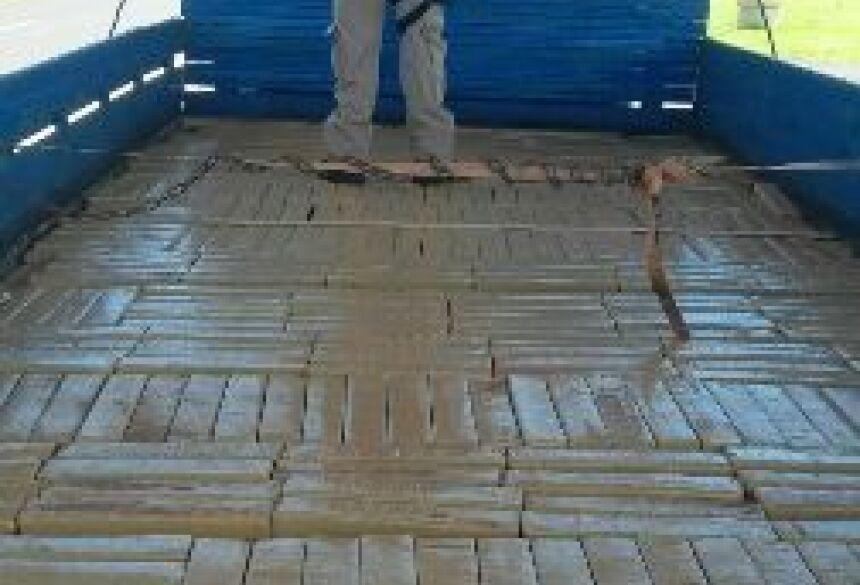 Droga seria transportada de Amambai para Campo Grande - Foto: Divulgação PRF