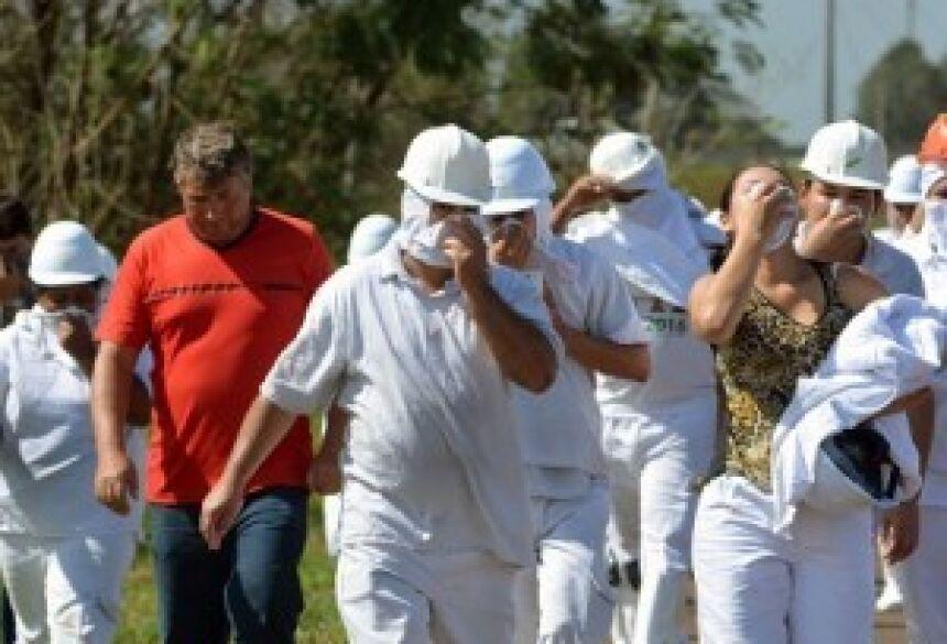 Vazamento de amônia aconteceu no dia 6 deste mês - Foto: Paulo Ribas / Correio do Estado