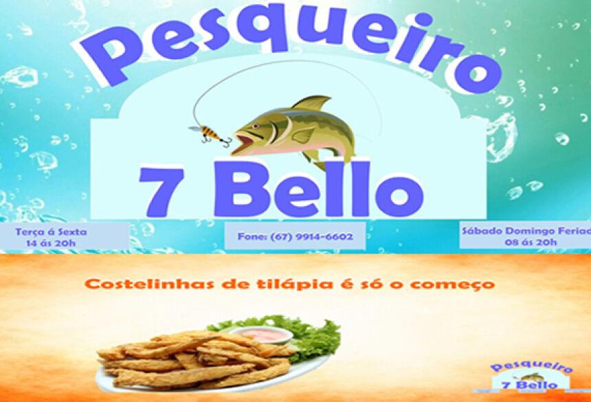 Pesqueiro 7 Bello não terá almoço neste domingo, só porções e alacarte em VICENTINA