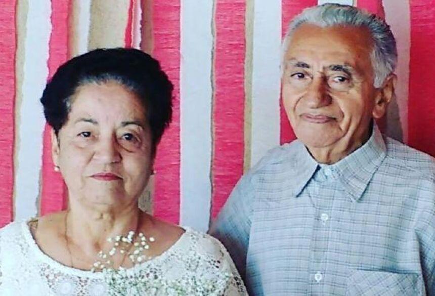 Foto: Arquivo da Família - O casal Dona Dega e Seu Bento -