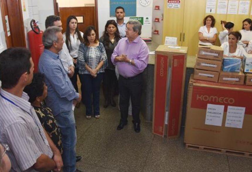 FOTO: ASSESSORIA - Centro Odontológico de Naviraí recebe emenda do deputado Onevan de Matos
