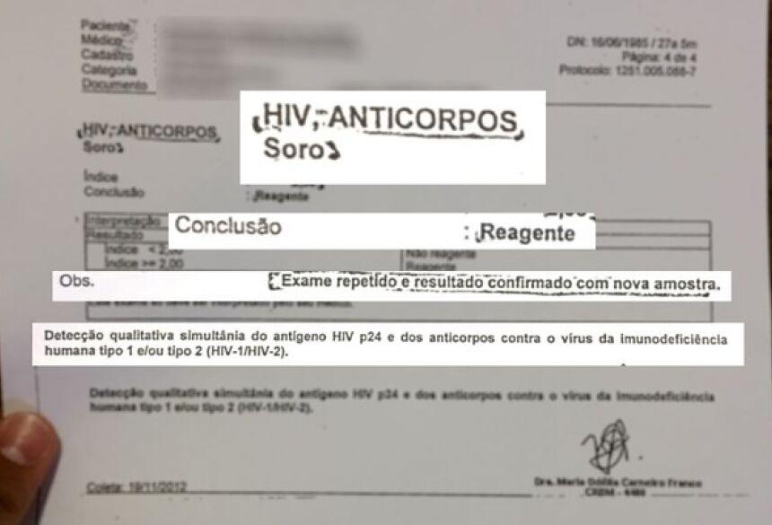 Resultado da contraprova indicava presença no vírus HIV em paciente de Goiás (Foto: Murillo Velasco/G1)