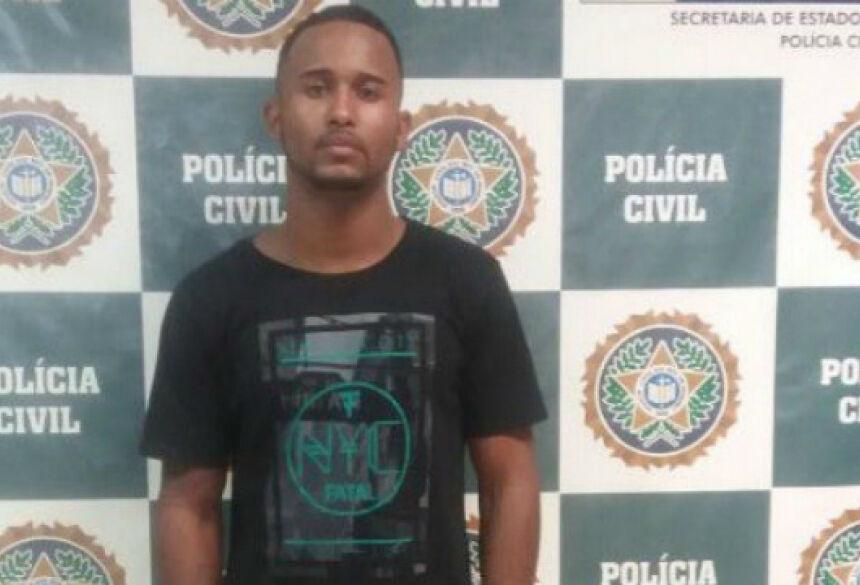 Na trama global, Luis Fernando atuava como membro do tráfico de drogas. Foto: Polícia Civil RJ/Divulgação