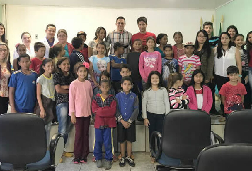 Serviço convivência desenvolve projeto saúde e bem-estar Familiar com crianças e adolescentes