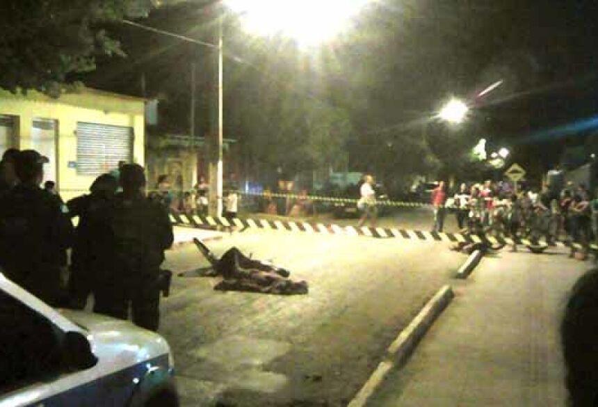 Edgar Ribeiro de Arruda foi morto a tiros por volta das 20h de quinta-feira