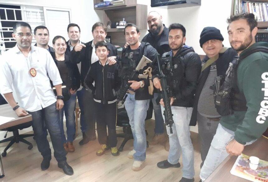 Pedro Urbieta de Souza, de 12 anos foi solto na cidade de Pedro Juan Caballero - Divulgação