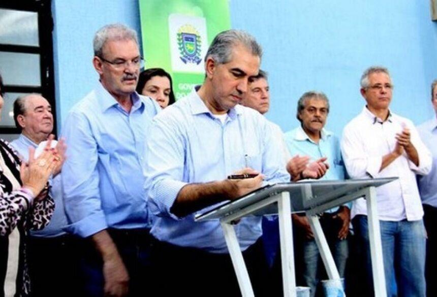 Governador estará nesta segunda em Dourados, onde cumpre agenda – Foto: Chico Ribeiro