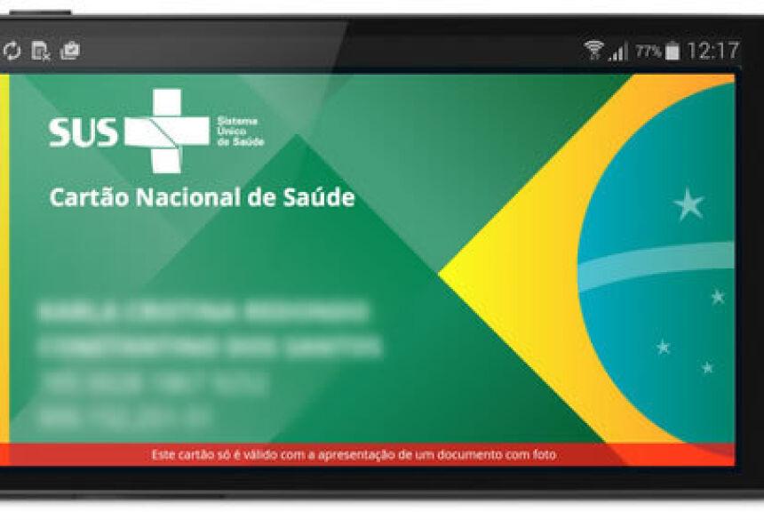 O Cartão SUS digital permite o cadastramento de alergias, telefones de emergência, calcula massa corpórea e facilita o acompanhamento da pressão e da glicemia por meio de gráficos.