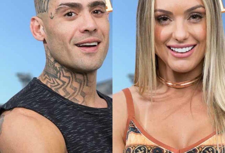 Yuri Fernandes e Monick Camargo formam o primeiro casal de 'A Fazenda - Nova Chance'