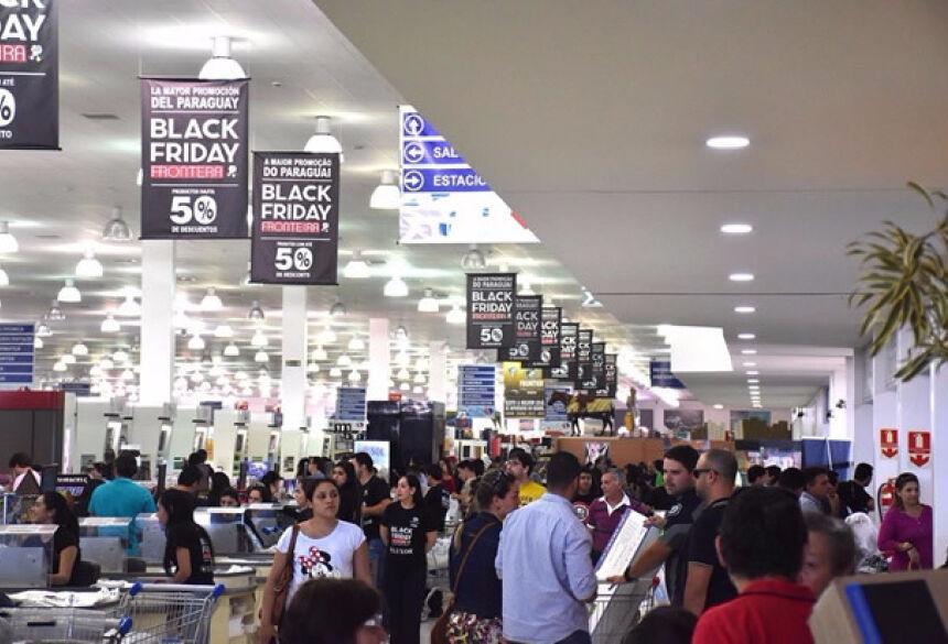 Neste ano, haverá participação de 150 lojistas entre os de Ponta Porã e de Pedro Juan Caballero (Foto - Divulgação).