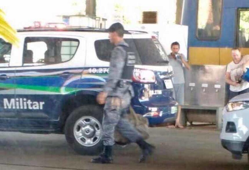 Reportagem flagrou o momento da prisão ocorrida no começo da tarde desta quarta-feira (13) - Foto: Nova News