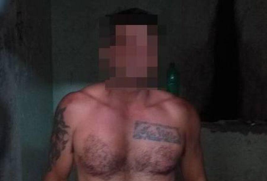 Idade do suspeito não foi divulgada pela Polícia Militar - Foto: Divulgação/PM