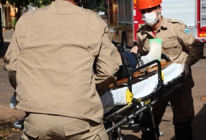 Acidente aconteceu por volta das 6h55 próximo ao Hospital Cassems - Foto: Ilustração/Luciene Carvalho/Nova News