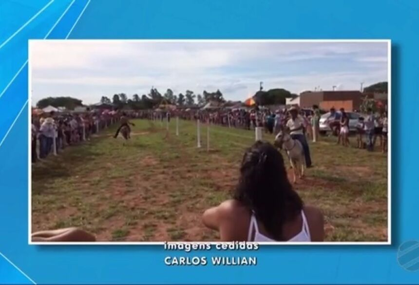 DEODÁPOLIS: Com sucesso total 'Corrida do Jegue' foi destaque na TV Morena para todo o estado do MS