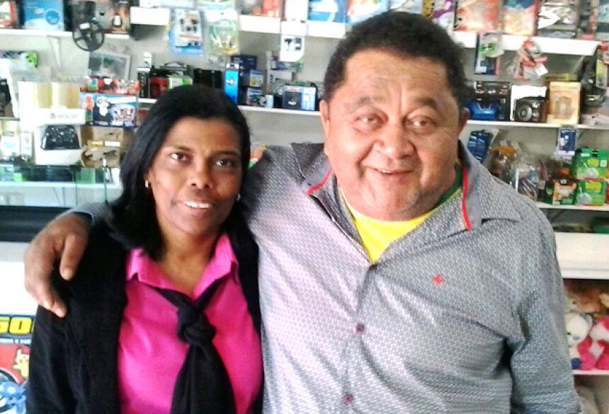 Empresários Marisete e Pupy (Foto: Adélio Ferreira)