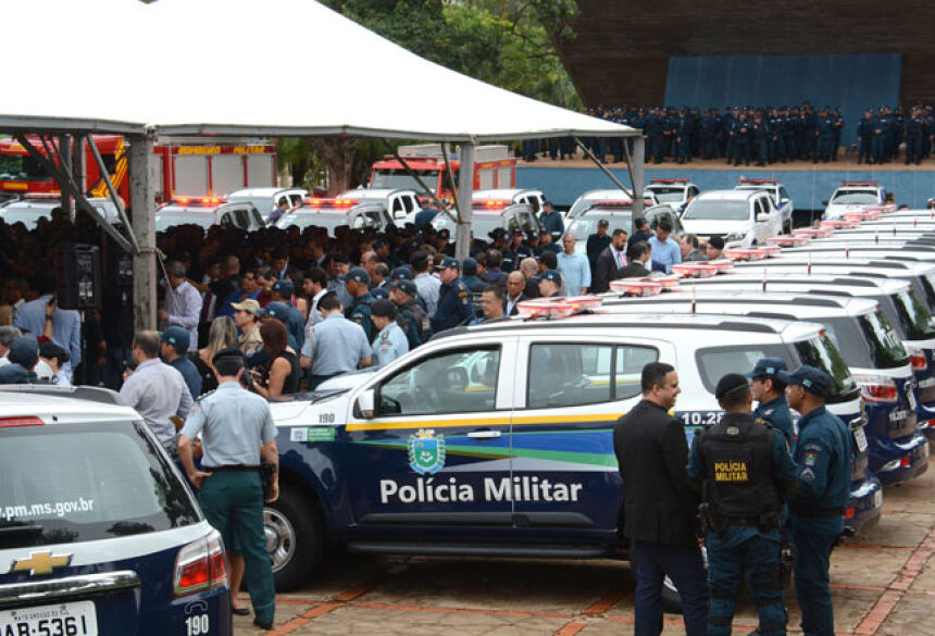 A frota oficial é composta de 4,6 mil veículos, nos 79 municípios - Foto: Bruno Henrique/Correio do Estado