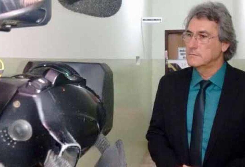 Delegado convocou os órgãos de imprensa para detalhar o desfecho do caso 'Vitor Peixinho' - Foto: Márcio Rogério/Nova News