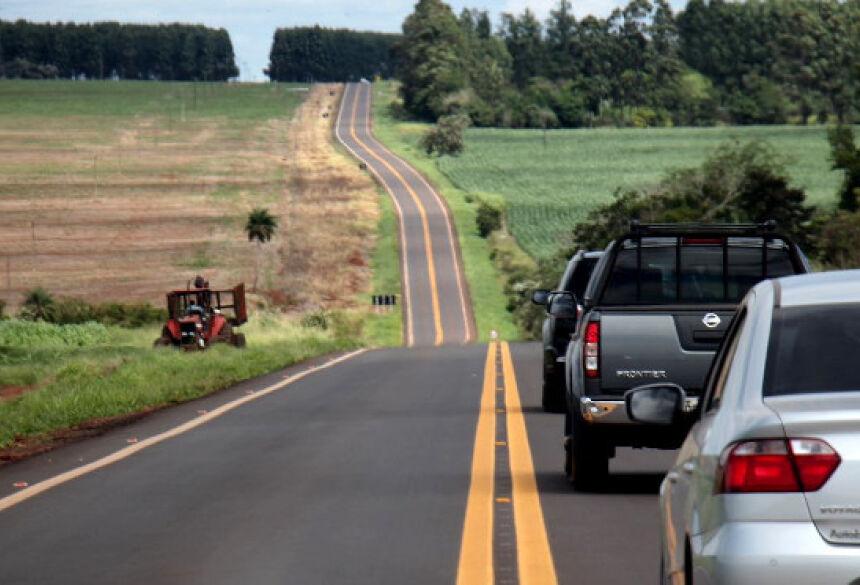 Com a qualidade do projeto executado pelo Governo de MS a rodovia não precisará de manutenção por, pelo menos, 10 anos.