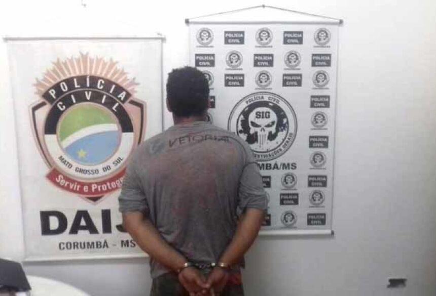 Pai do menino de 3 anos preso por suspeita de estuprar próprio filho - Crédito: (Polícia Civil/Divulgação)