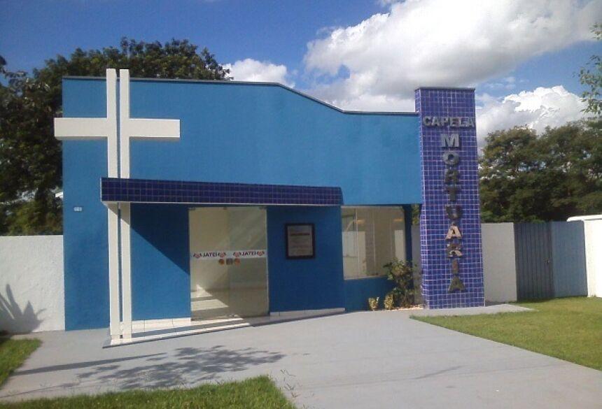 Com recursos próprios, Eraldo entregará na sexta-feira (20), a reforma da Capela Mortuária em Jateí