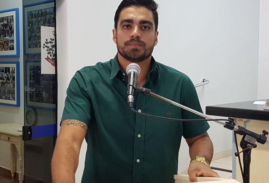 FOTO: ROGÉRIO SANCHES / FÁTIMA NEWS - Diego alerta sobre acidentes e renova pedido de mudar local de aulas das auto escolas