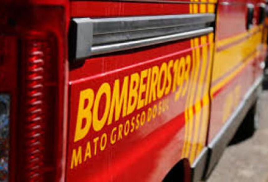 Corpo de Bombeiros transportou as vítimas para hospital de Nova Andradina - Foto: Divulgação