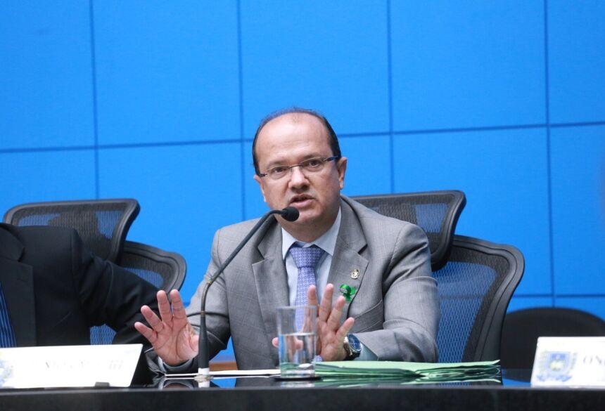 Quando secretário de Justiça e Segurança Pública o atual deputado contribuiu com as discussões para a aprovação da Lei. Foto: João Garrigó