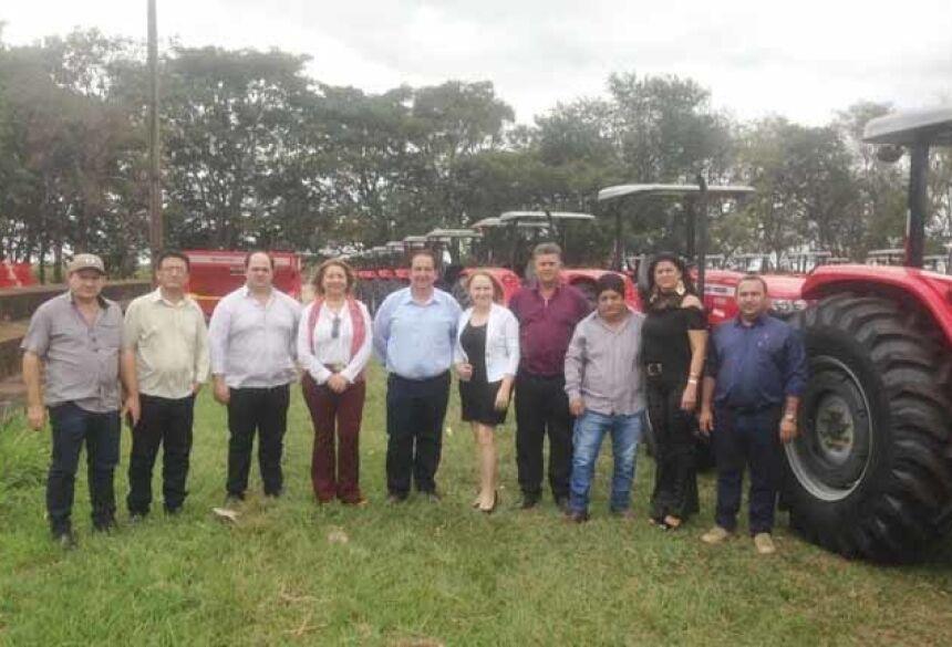 A Agraer vai fazer todo um trabalho de planejamento do uso dessas máquinas com cada um dos municípios