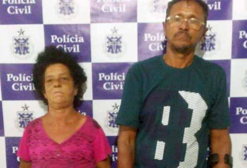 Mulher e homem foram presos (Foto: Divulgação/Polícia Civil)
