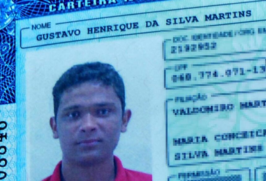 Gustavo Henrique da Silva Martins, 21 anos de idade.(Foto: Ribero Júnior / MS 24h)